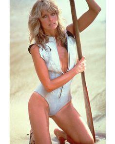 A George Vreeland Hill pin. Farrah Fawcett, Santa Monica, Kate Jackson, Scuba Girl, Womens Wetsuit, Charlize Theron, Actor Model, Celebs, Celebrities