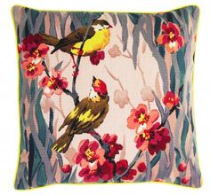 Birdie Blossom Cushion by Paul Smith for The Rug Company