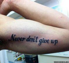 Twenty Terrible Tattoos Fails!