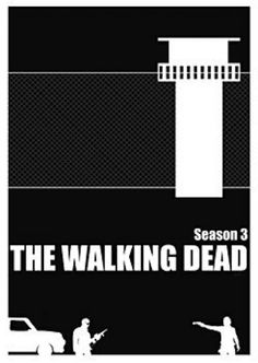 The Walking Dead minimalist Season 3 by  Cameron Gillum