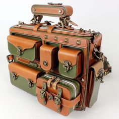 steampunk leatherbag