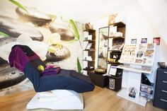 Salon Lucca #saloninrichting Lucca, Bean Bag Chair, Loft, Bed, Furniture, Home Decor, Decoration Home, Stream Bed, Room Decor
