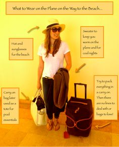Jetsetter Style... What to Wear on a Plane