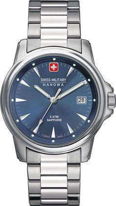 Мужские часы Swiss Military Hanowa 06-5230.04.003 Rolex Watches, Watches For Men, Watch Model, Omega Watch, Bracelet Watch, Michael Kors, Accessories, Shopping, Rvs
