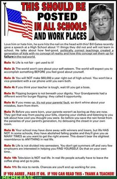 Words of Wisdom by Bill Gates<< might give this to my seniors.
