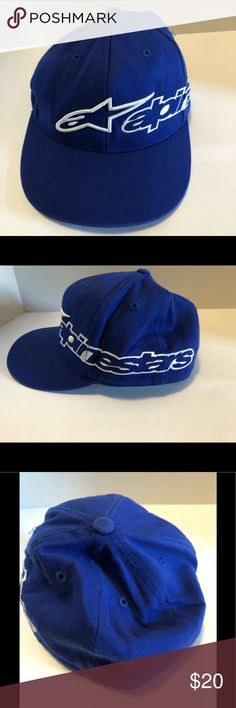 18e85421688 AlpineStars 210 Fitted Flat Bill Cap by Flexfit Men s Blue AlpineStars 210  Fitted Flat Bill Cap by Flexfit L XL - 7 1 4 to 7 5 8 3D ASTAR Embroidery  Logo ...