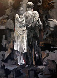 acrylics on canvas, 200x150cm