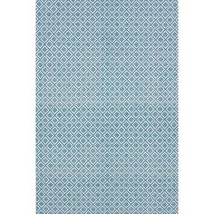 nuLOOM Handmade Flatweave Moroccan Trellis Blue Cotton Rug x Trellis Rug, Trellis Pattern, Blue And White Rug, White Rugs, Moroccan Pattern, Cotton Texture, Contemporary Area Rugs, Hand Tufted Rugs, Room Rugs