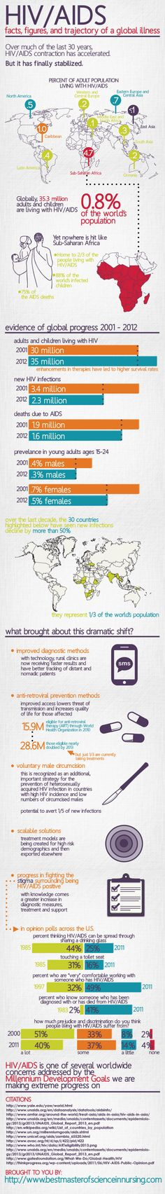 AIDS TODAY: THE FACTS, FIGURES, AND TRAJECTORY OF A GLOBAL ILLNESS Infographic
