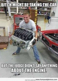 Dump A Day Funny Pictures Of The Day - 72 Pics I someone who did this. Don't agree with it, but it was funny. They also took the seats out. Ford Memes, Truck Memes, Car Jokes, Funny Car Memes, Really Funny Memes, Car Humor, Funny Relatable Memes, Stupid Funny, The Funny