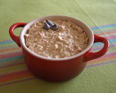 peanut butter cookie dough over night oats