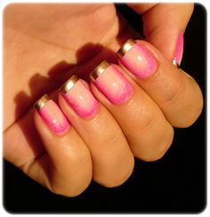Ivana Thinks Pink: Inspired by: Harlequin Hardware Manicure