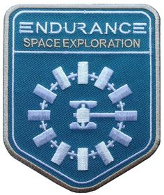 Interstellar Movie Space Exploration Scifi Universe Endurance Crew Uniform Patch