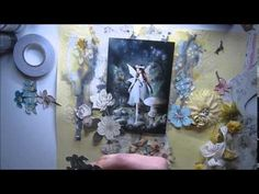 Marta Lapkowska - Magical Fairy Scrapbooking Page for My Creative Scrapbook - YouTube