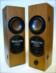 A Shot of Smooth Sounds  Audio Speakers Made from by ikymagoo, $249.00