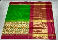 Pochampally ikkat silk sarees, Status: Available, Free shipping in India, Price : 7950/- Contact us for order: uppada.om@gmail.com (Or) WhatsApp no: 8500112747