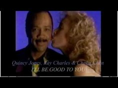 Great track from the Quincy Jones album Back on the Block released in 1989. Performed by Ray Charles and Chaka Khan. (clip produced by Pfunk... with a HIGH quality in sound (bitrate:224) / quality video: svcd - www.pfunk.nl)
