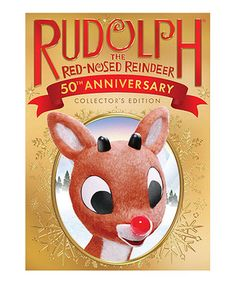 Loving this Rudolph the Red Nosed Reindeer DVD: 50th Anniversary Edition on #zulily! #zulilyfinds