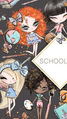 Iphone 6 Wallpaper Backgrounds, Wallpapers, Pretty Art, Cute Art, Free Frames, Cute Cartoon, Cute Drawings, Stationery, Scrapbook