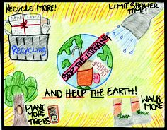 Highland Conservancy Sponsors Earth Day Poster Contest By Katheryn Krupa