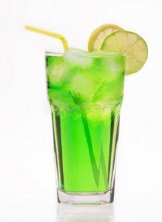 Neon tea- rum, gin, vodka, apple pucker, triple sec, midori and sour, oh my!