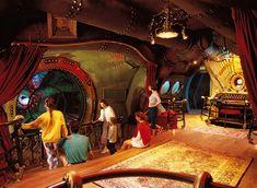 the nautilus jules verne Jules Verne, Nautilus Submarine, Universal Studios Singapore, The Originals Show, Walt Disney Imagineering, Nemo, Star Tours, Leagues Under The Sea, Tokyo Disneyland