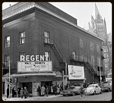 Regent Theatre - final show Lady and the Tramp Montreal Quebec, Lady And The Tramp, Vintage Disney, Photo Archive, Movie Theater, Ottawa, Ontario, The Neighbourhood, Street View