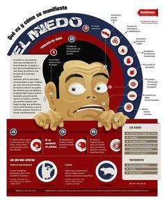 Qué es el miedo y cómo se produce #infografia