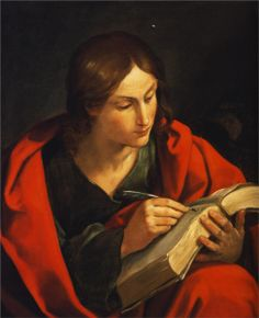 Guido Reni. San Juan, 1621. Óleo sobre lienzo. Universidad Bob Jones. WikiPaintings.org