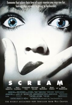 Oct. 3: Scream (1996). When I saw this in 1996, Halloween was 18 years old. Watching it in 2014, Scream is 18 years old. Alls I know is, Halloween seemed a hell of a lot older at 18 in 1996 than Scream does in 2014. Thumbs up. I think the only problem I have with this movie is that it ruined horror movies from 1997-2002.