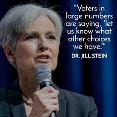 Jill Stein supporters explain why she's getting their vote