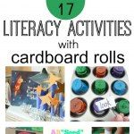 http://growingbookbybook.com/2015/03/30/literacy-activities-that-use-cardboard-rolls/