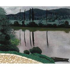Félix Vallotton, The Dordogne in Vitrac, 1925 on ArtStack #felix-vallotton #art