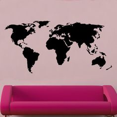 World map vector with borders white world maps maps and world world map decal wall sticker gumiabroncs Images