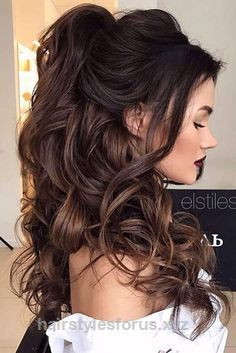 Great Pretty Half-up Bridesmaid Hairstyles for Long Hair ★ See more: lovehairstyles.co…  The post  Pretty Half-up Bridesmaid Hairstyles for Long Hair ★ See more: lovehairstyles….  appeared fi ..