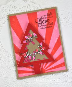 Light Of The Season Card by Dawn McVey for Papertrey Ink (September 2014)