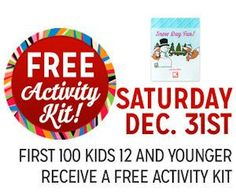 Kmart Freebie Saturday - Free Activity Kit