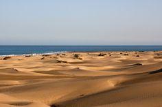 Dunes in Maspalmoas, Gran Canaria.
