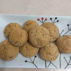 Baby Food Recipes, Dessert Recipes, Desserts, Healthy Sweets, Healthy Snacks, Snacks Dishes, Sugar Free, Vegan, Cookies