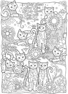 Home Decorating Style 2020 for Dessin De Mandala De Chat, you can see Dessin De Mandala De Chat and more pictures for Home Interior Designing 2020 at Coloriage Kids. Cat Coloring Page, Animal Coloring Pages, Coloring Book Pages, Printable Coloring Pages, Coloring Pages For Kids, Coloring Sheets, Coloring Worksheets, Dora Coloring, Frozen Coloring
