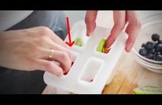WATCH: She Places Fresh Fruit Inside This Container. When She Freezes It, The Result Is Awesome