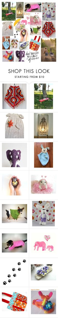"""Handmade For Children on Etsy"" by belladonnasjoy ❤ liked on Polyvore featuring WALL, modern and rustic"