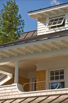 Popular bark in gable also showing standing seam metal for Exterior design lodi ca