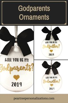 Godmother proposal gift, Will you be my godparent ideas baptisms, godparents ornament, will you be my godmother ideas