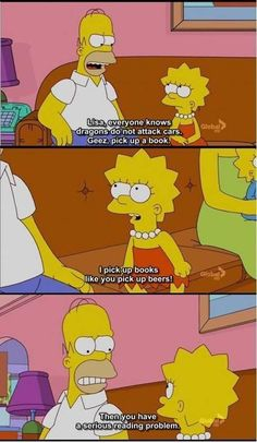 The Simpsons read....