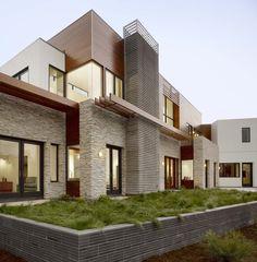 Hillsborough house 1 - contemporary - exterior - san francisco - Charles Debbas Architecture