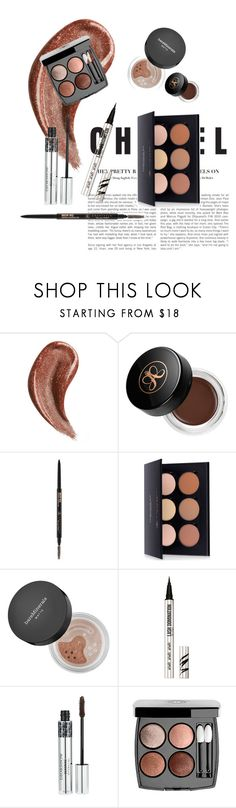 """Untitled #7"" by kajsasjostrom on Polyvore featuring beauty, Gucci, Anastasia Beverly Hills, Bare Escentuals, Christian Dior and Chanel"