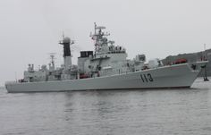Military Destroyer | Chinese Type 052 Luhu Class Guided Missile Destroyer