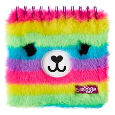 Fluffy Faces Notebook Jotter