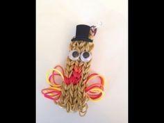 Happy Thanksgiving! Gobble gobble! Rainbow loom